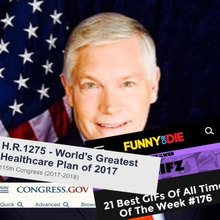 That Time Congress Must Have Gotten the Staff of Funny or Die to Name Their New Healthcare Bill