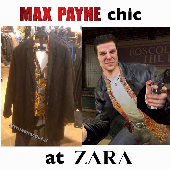 Max Payne chic at Zara